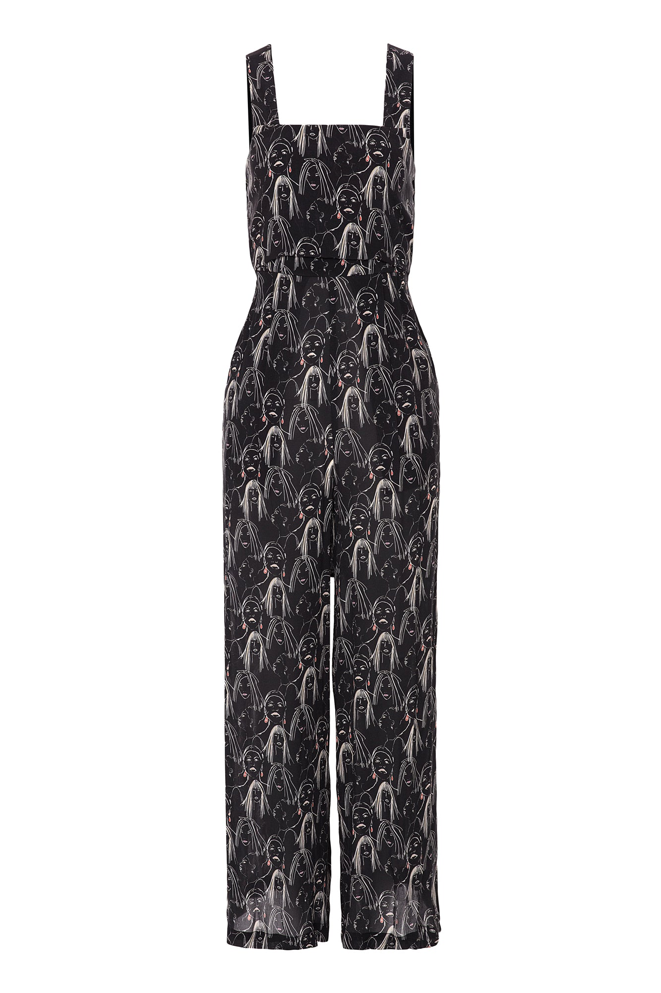 Carolina K Muses Bow Jumpsuit