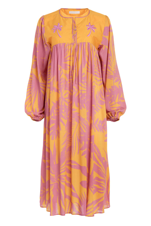 Carolina K Betka Dress Sunset Yellow