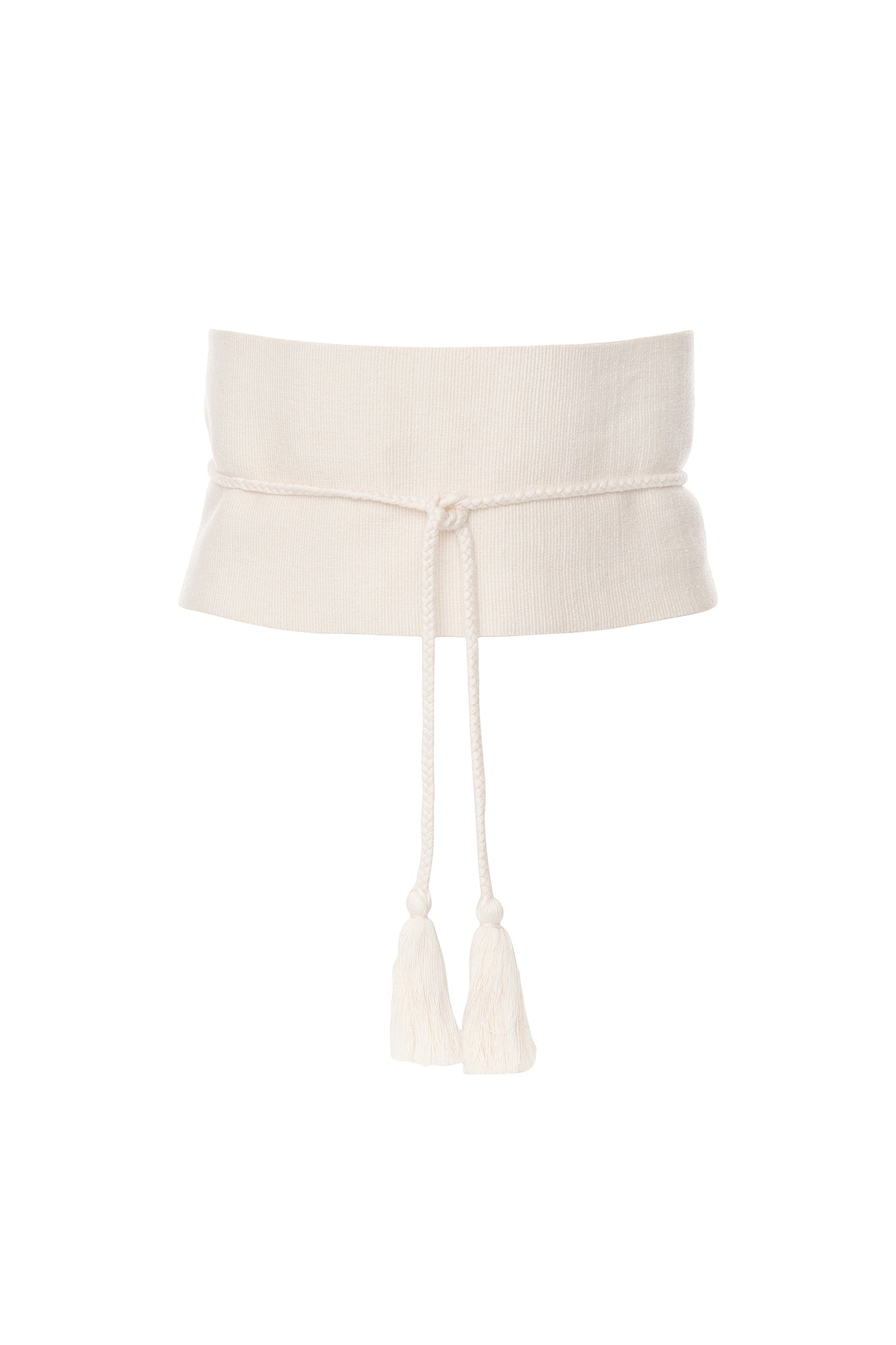 Carolina K Carmen Belt Cream One Size
