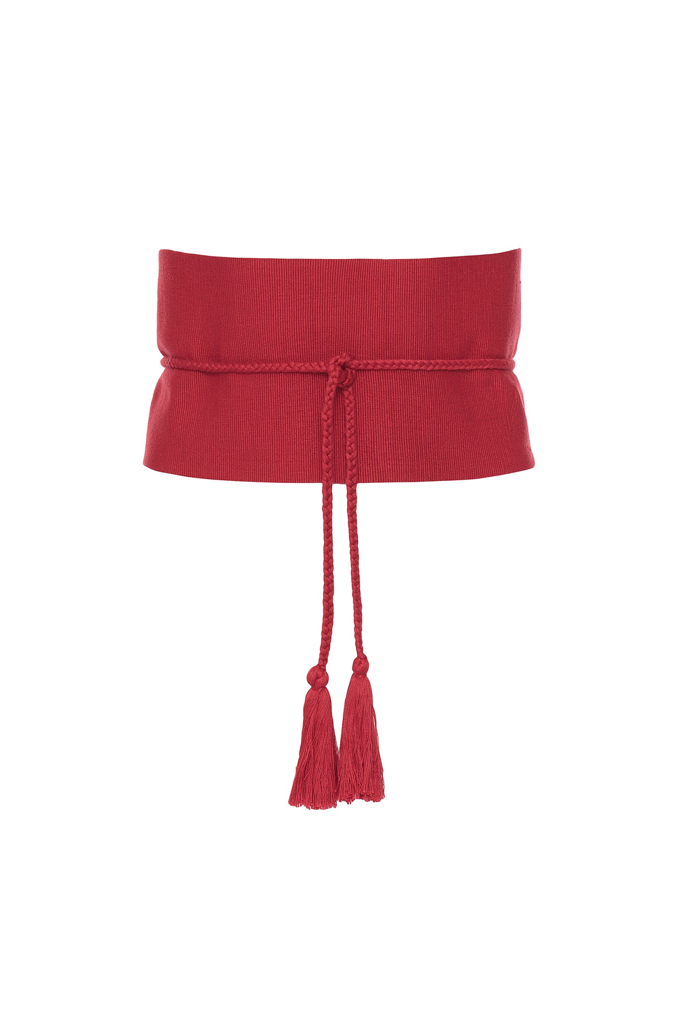 Carolina K Carmen Belt Red One Size