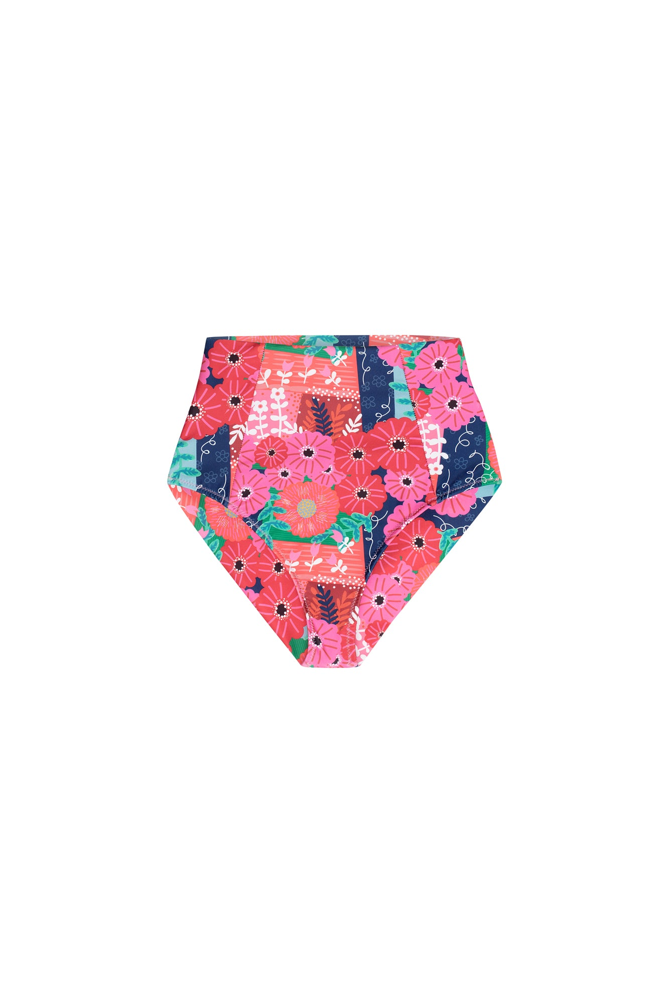 Carolina K Carmel Bikini Bottom in Magic Garden
