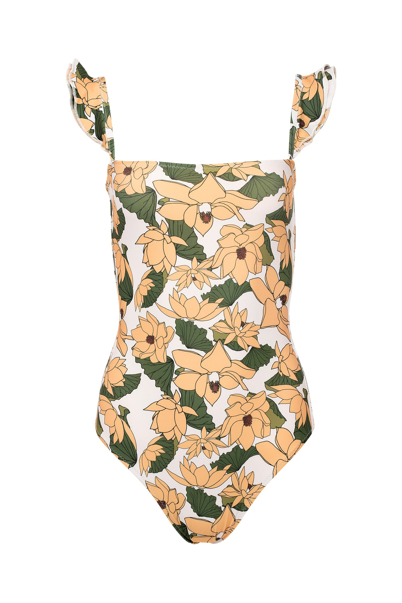 Carolina K Kuna One Piece Lotus Flower Yellow