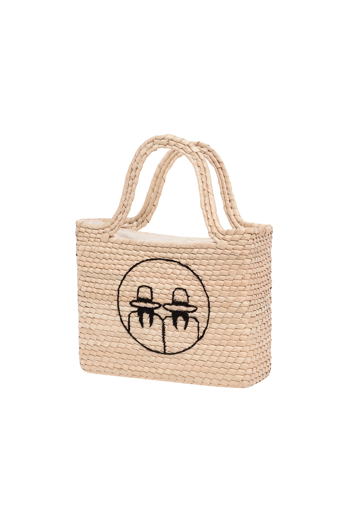 Carolina K Mini Cholitas Basket Bag Natural