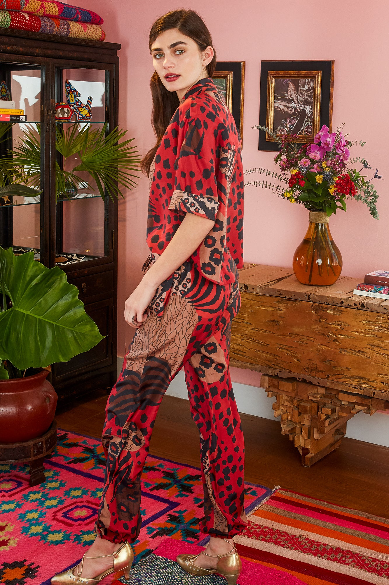 Carolina K Yogi Pant Haute Jungle