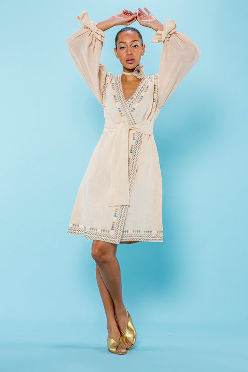 Carolina K Astra Dress in Dawn