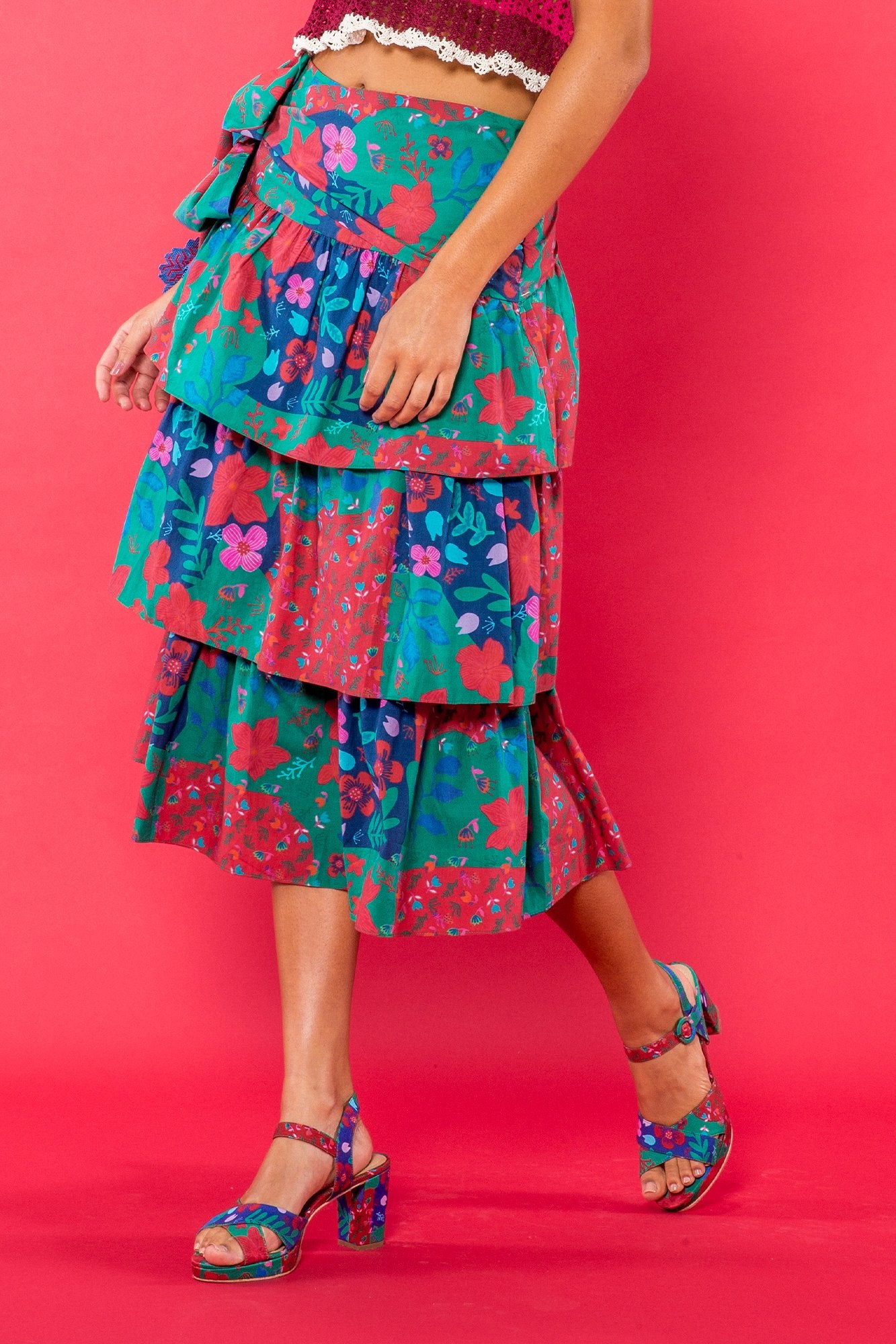 Carolina K Carmen Skirt Country Blossom