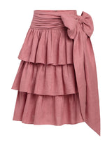 Carolina K Carmen Skirt in Rose