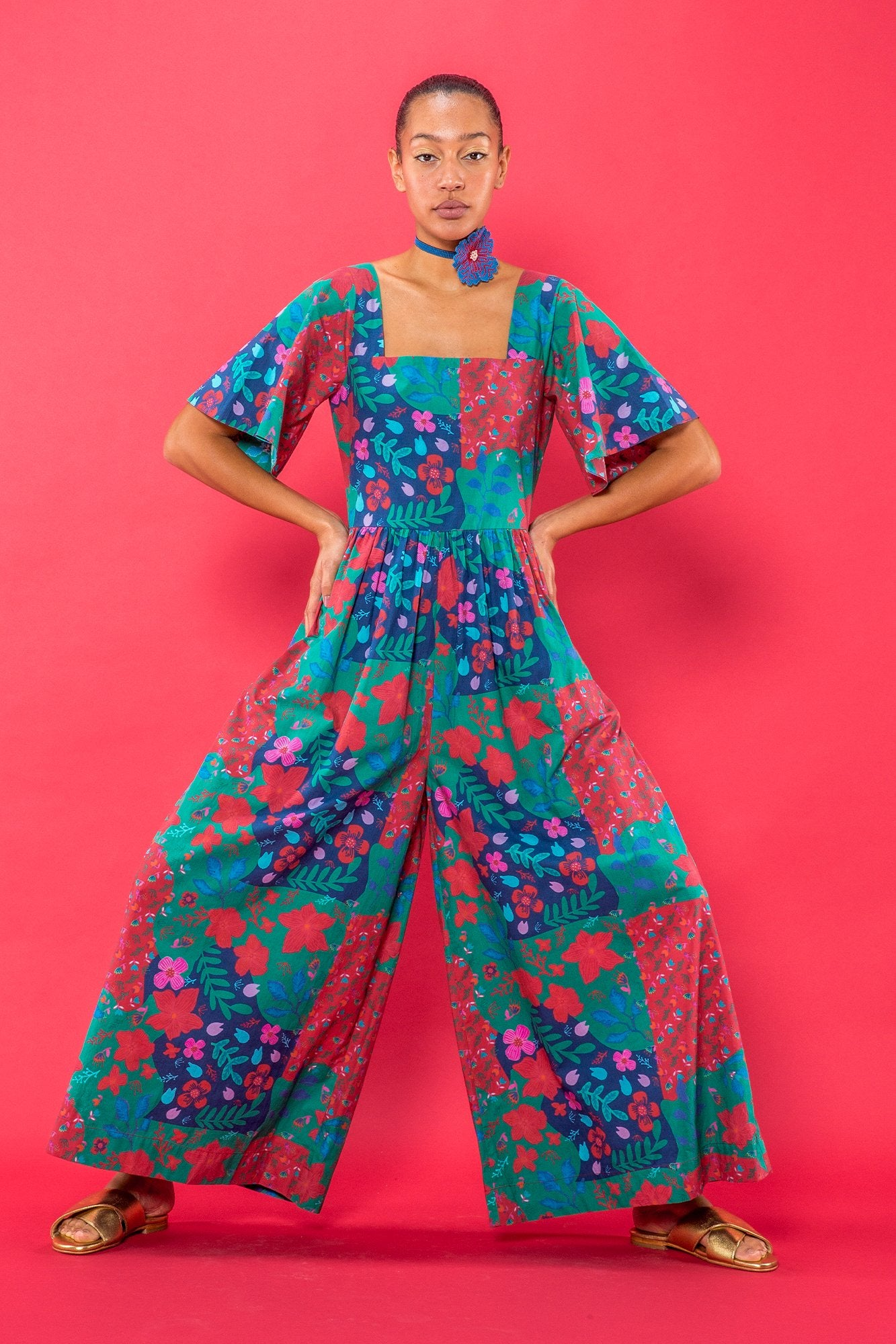 Carolina K Juvia Jumpsuit Country Blossom