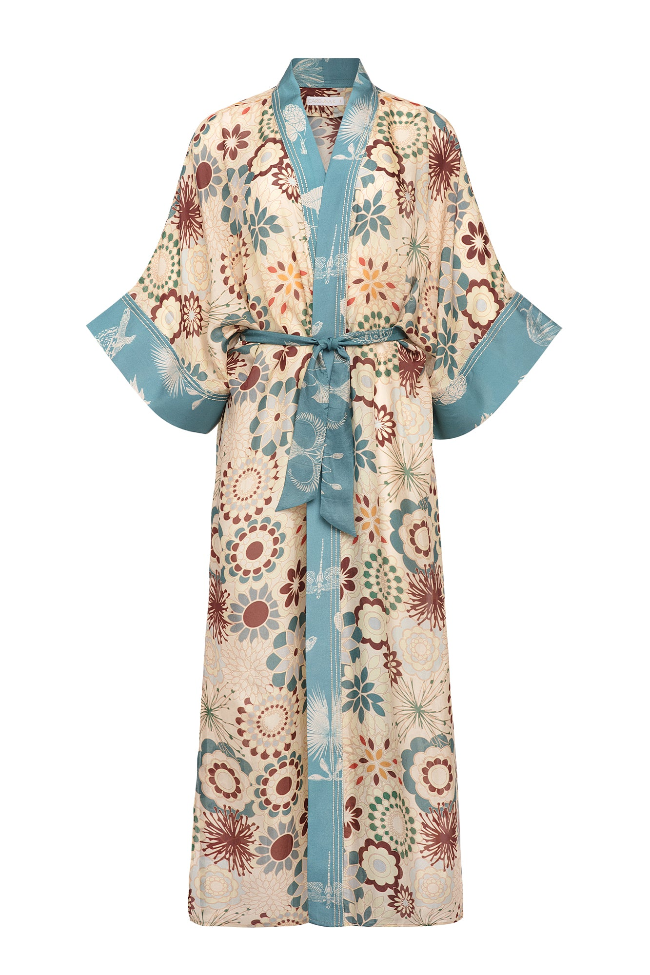 Carolina K Lexi Kimono in Flower Power