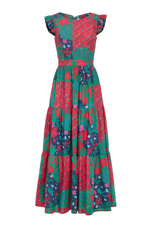 Carolina K Mila Dress in Country Blossom