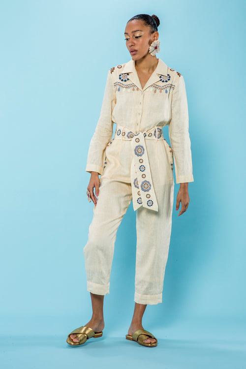 Carolina K Ulli Jumpsuit in Dawn