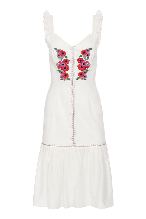 Carolina K Castella Dress White