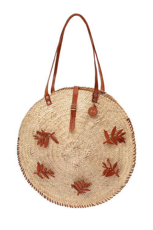 Carolina K Hoja Straw Bag