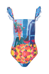 Carolina K Carolina K Kuna One Piece Swimsuit Frutas