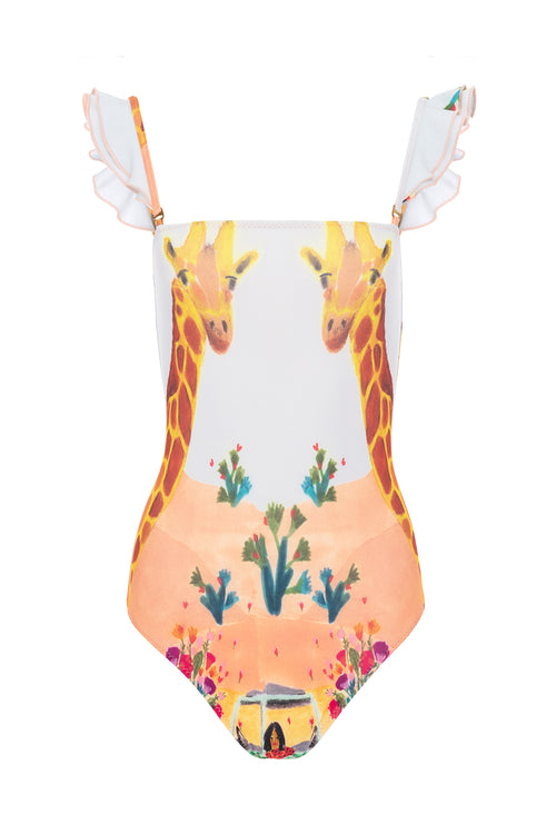 Carolina K Carolina K Kuna One Piece Swimsuit Safari