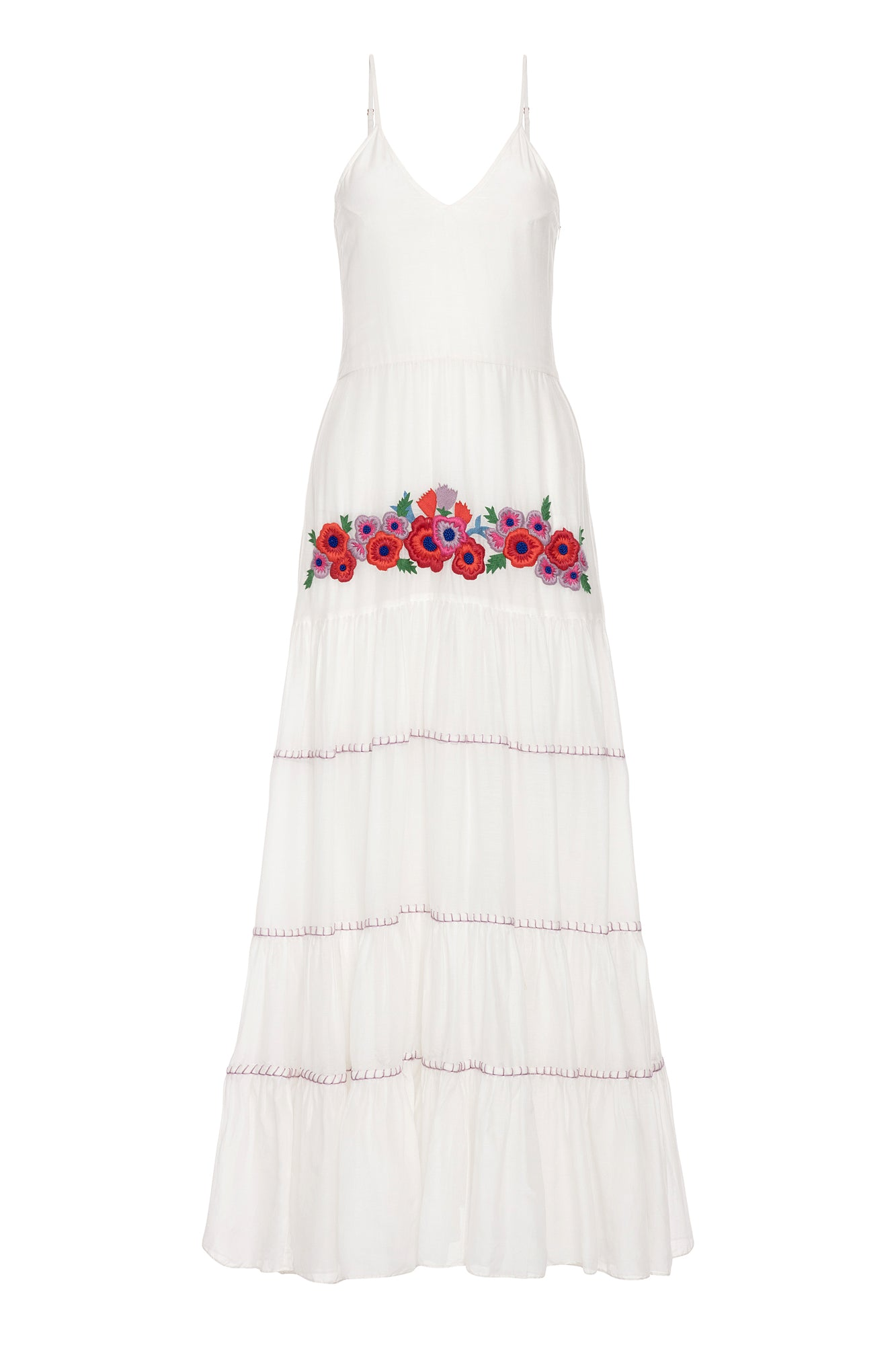 Carolina K Marieta Dress White