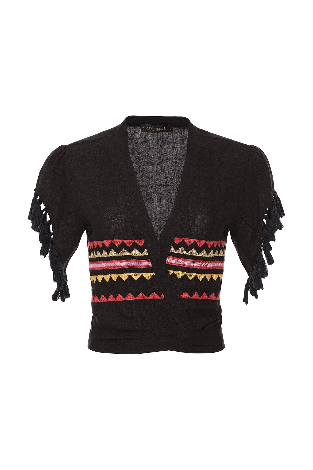 Carolina K Dani Top Black Triangles