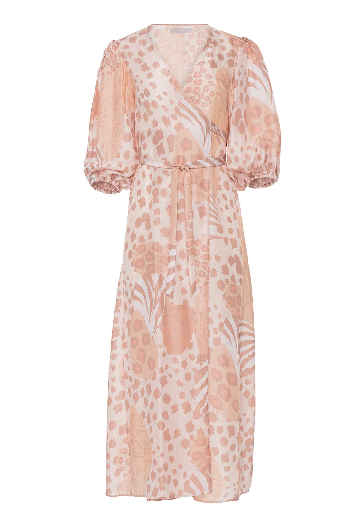 Carolina K Donna Robe Champagne Jungle