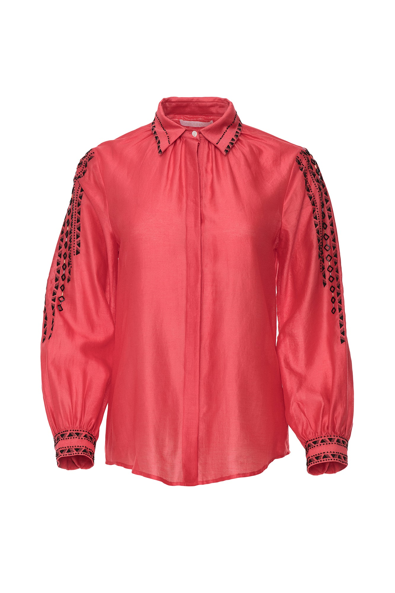 Carolina K Eden Blouse Red
