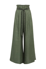Carolina K Ferry Pants Basil