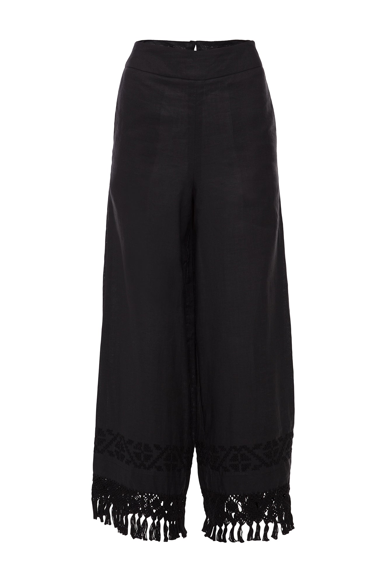 Carolina K Folk Pants Black
