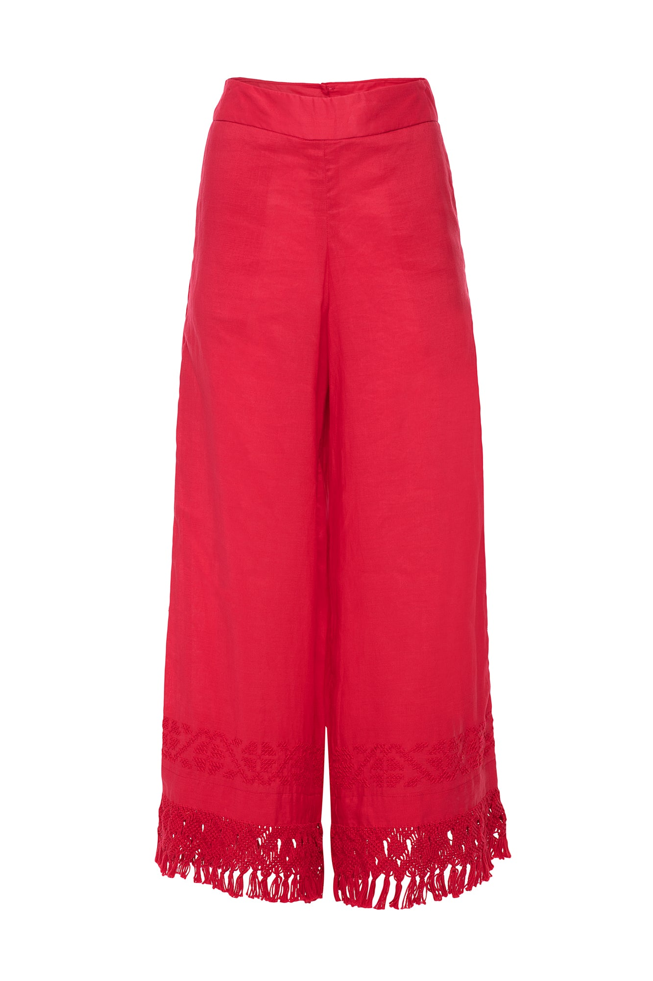 Carolina K Folk Pants Red