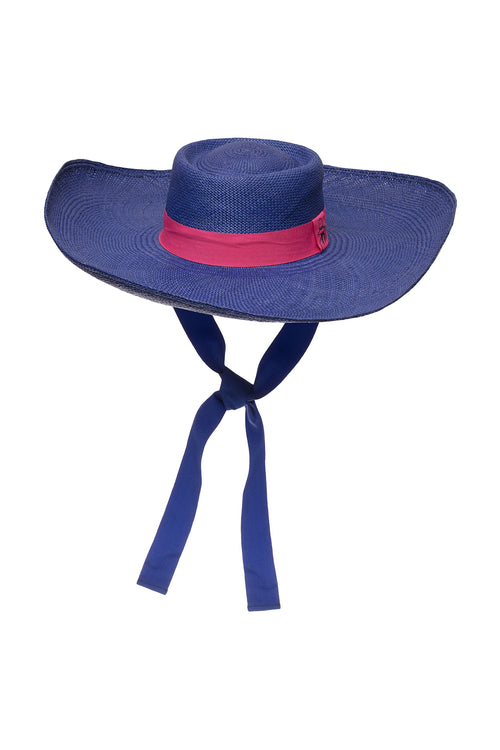 Carolina K Cielo Hat Blue/Pink
