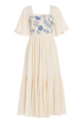 Carolina K Juvia Dress in Cream