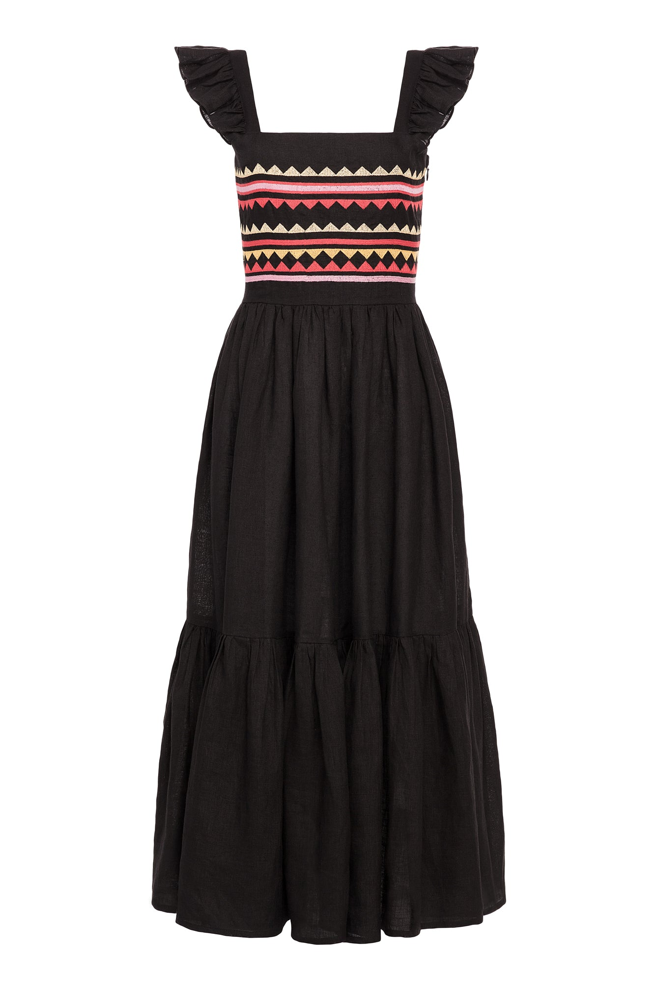 Carolina K Kuna Dress Black Triangle