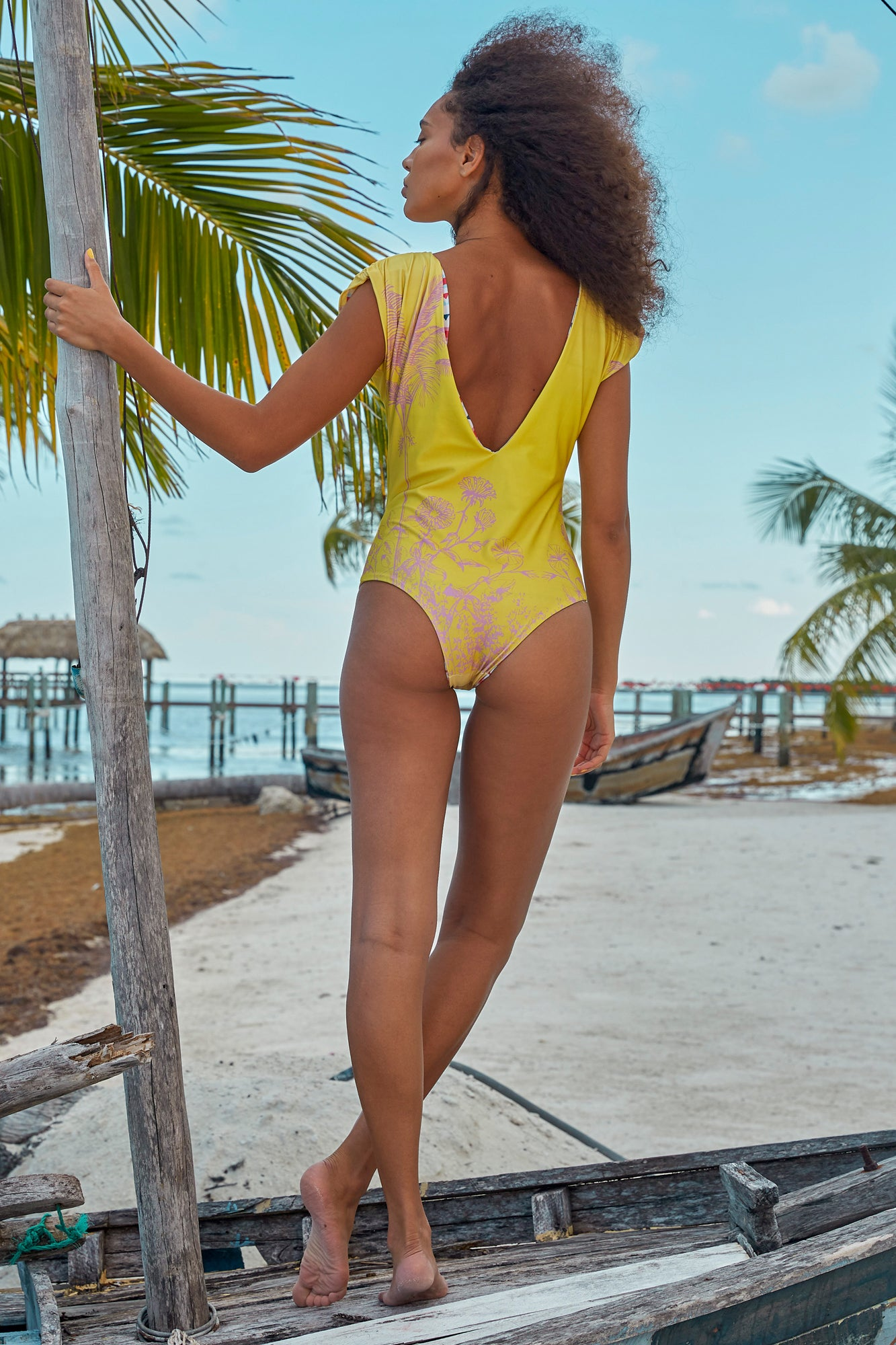 Carolina K Liset One Piece Sunset Yellow