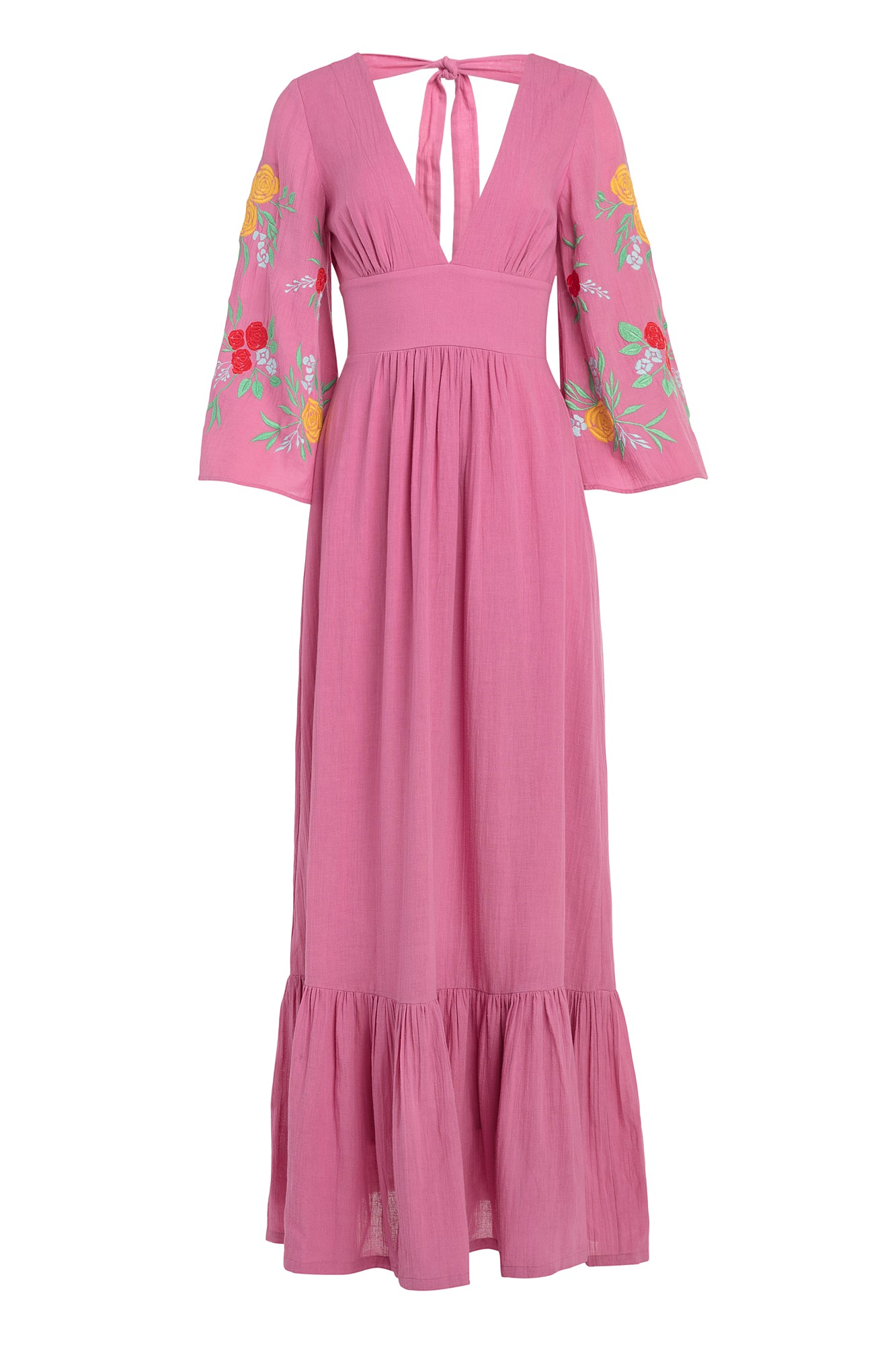 Carolina K Maribel Dress in Wild Rose Peonies