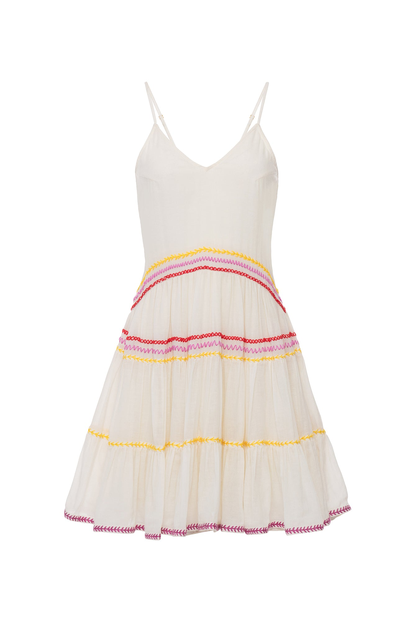 Carolina K Marieta Mini Dress White