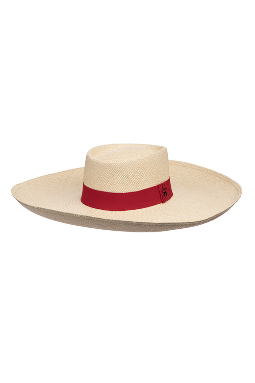 Carolina K Alma Straw Hat