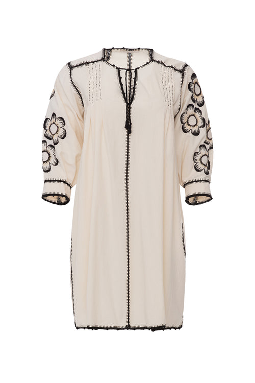 Carolina K Oaxaca Dress Off White