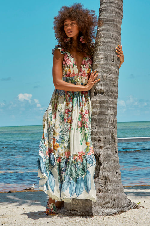 Carolina K Penelope Dress in Sacred Garden