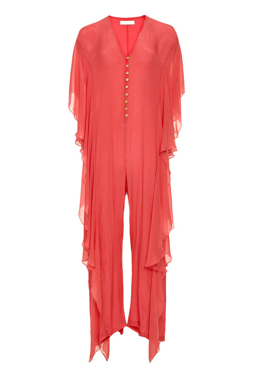 Carolina K Priscilla Jumpsuit Red