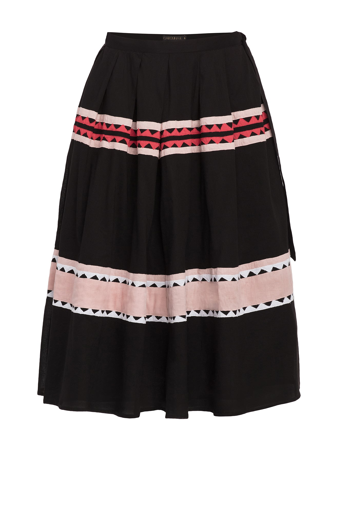 Carolina K Rosa Skirt Black Triangles
