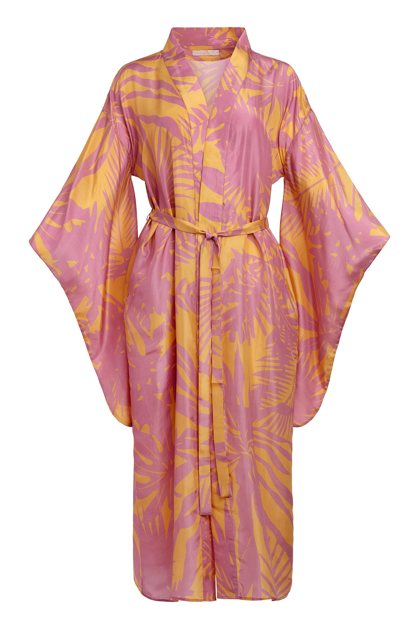Carolina K Samantha Kimono in Sunset Yellow