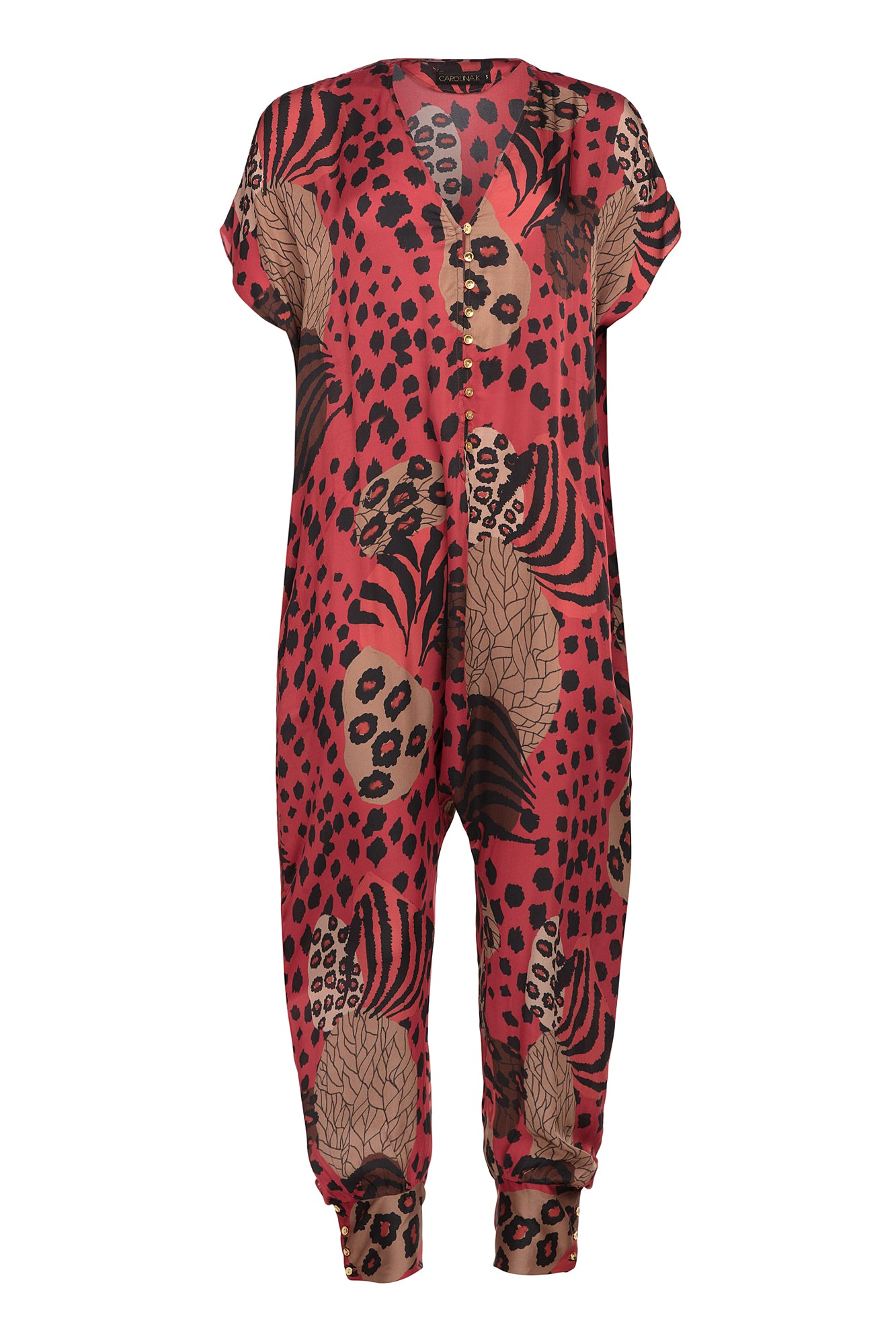 Carolina K Sera Jumpsuit Haute Jungle