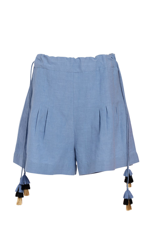 Carolina K Ori Shorts in Allure Blue