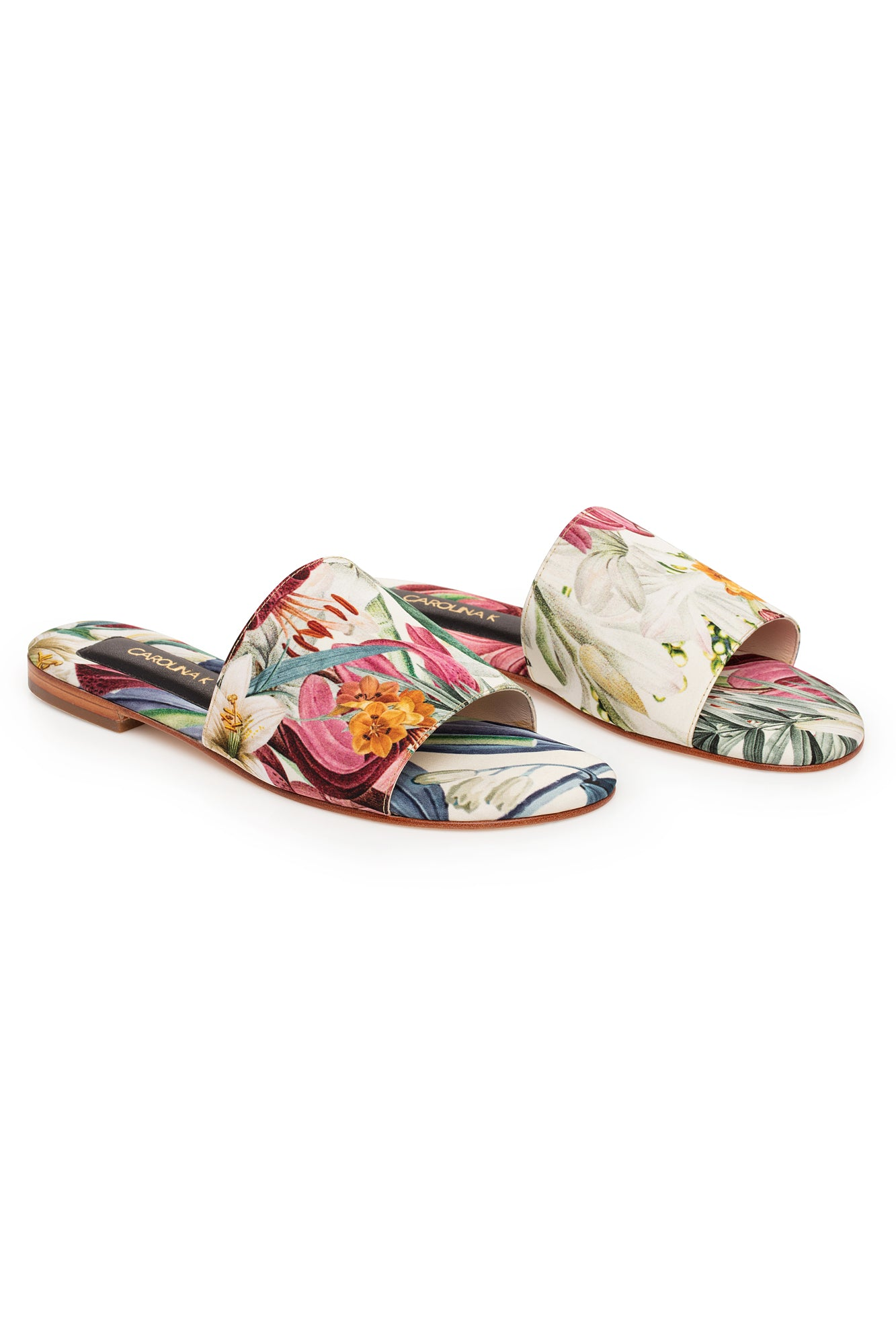 Carolina K Slip On Sandal in Sacred Garden
