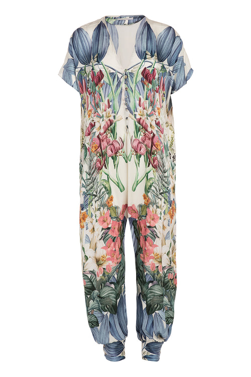 Carolina K Sera Jumpsuit in Sacred Garden