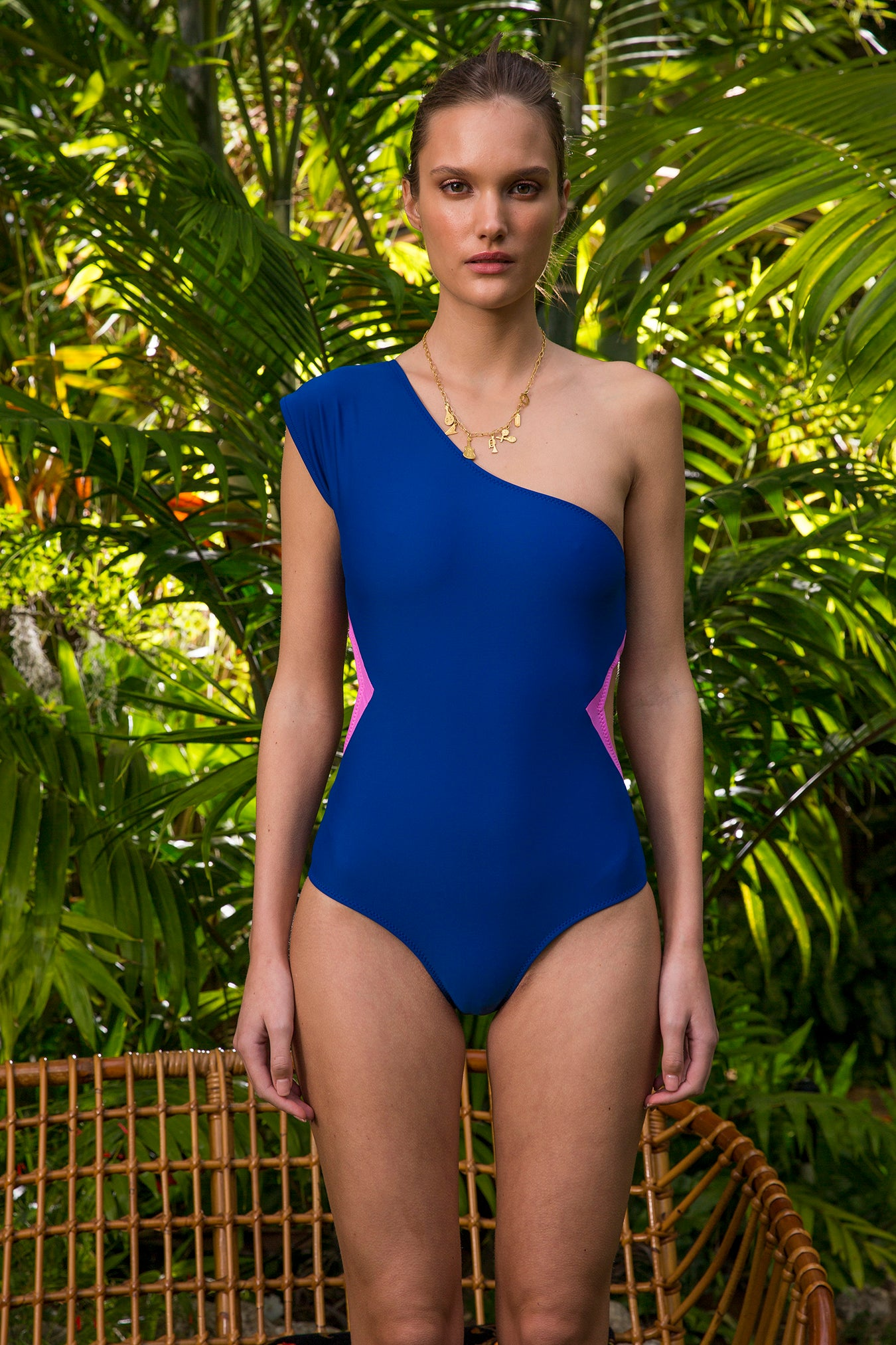 Carolina K Tilda One Piece Blue/Pink