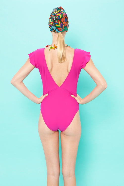 Carolina K Esmeralda One Piece Fuchsia