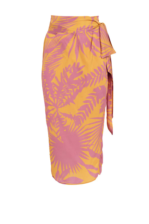 Carolina K Wanda Skirt in Sunset Yellow