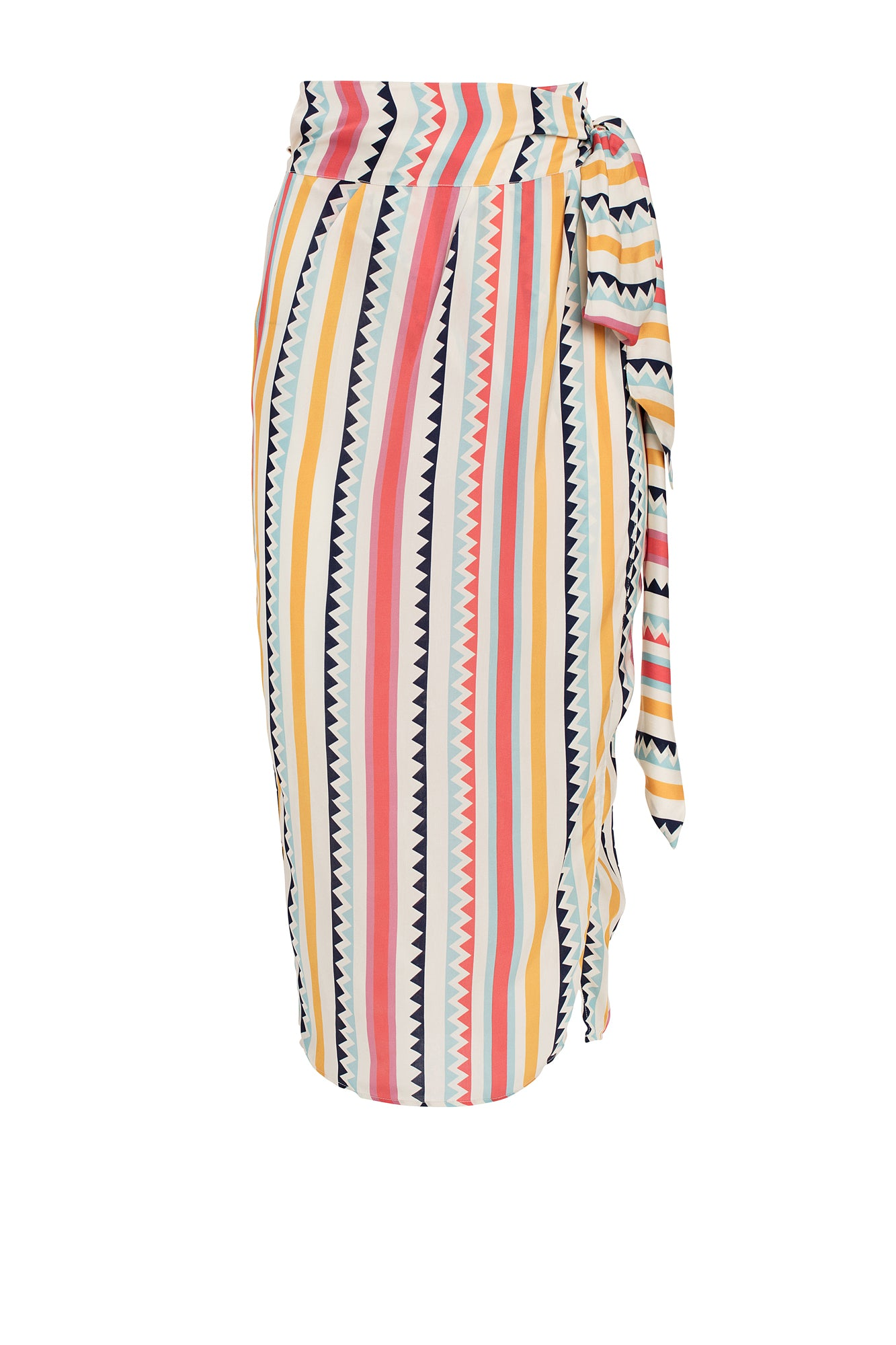 Carolina K Wanda Skirt in Multi Triangles