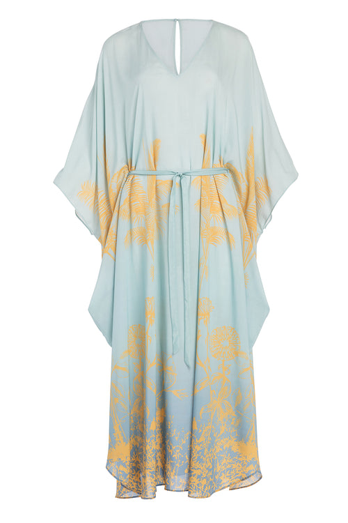 Carolina K Xim Kaftan in Sunset Blue