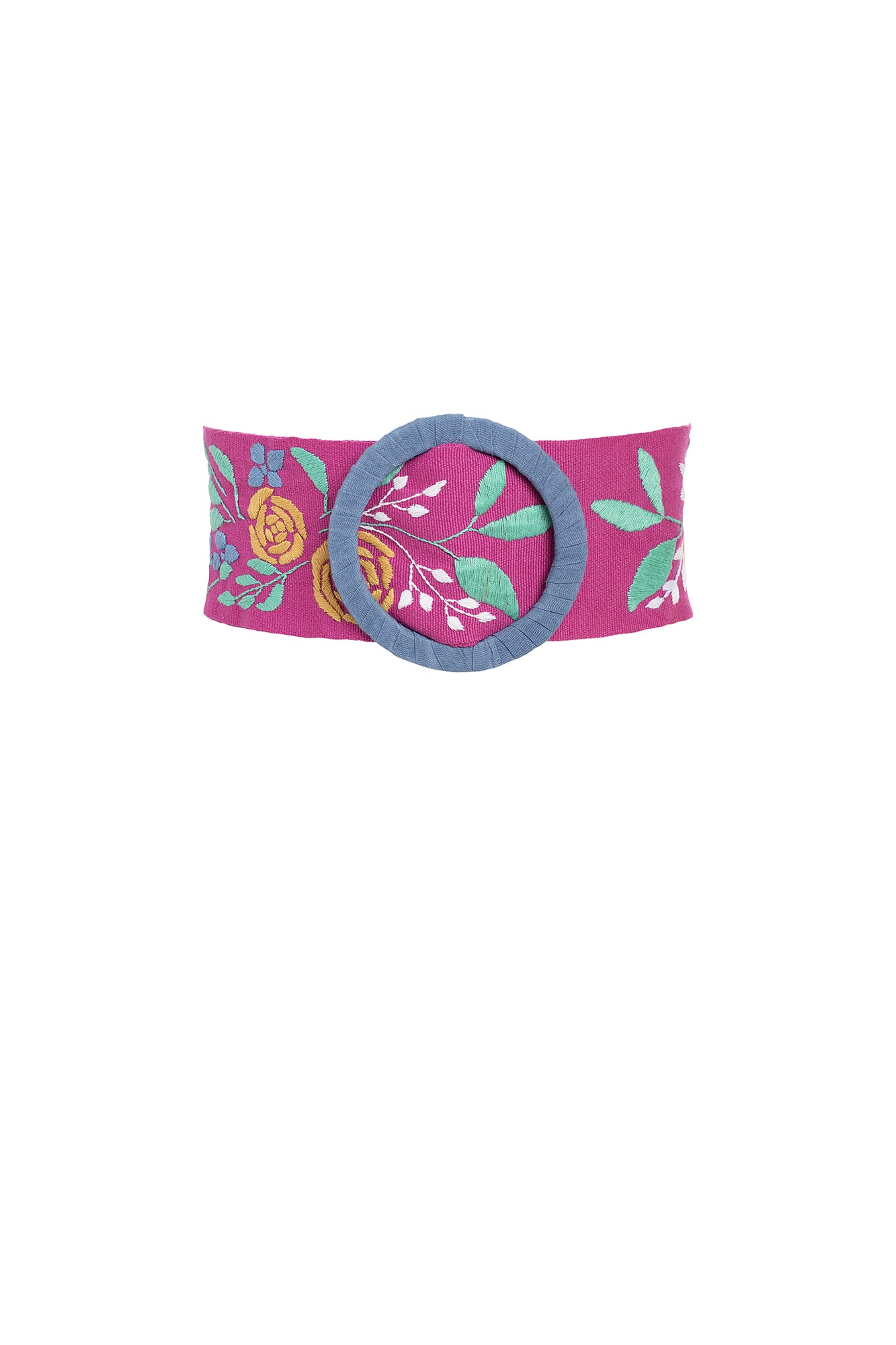 Carolina K Alicia Belt Wild Rose Peonies
