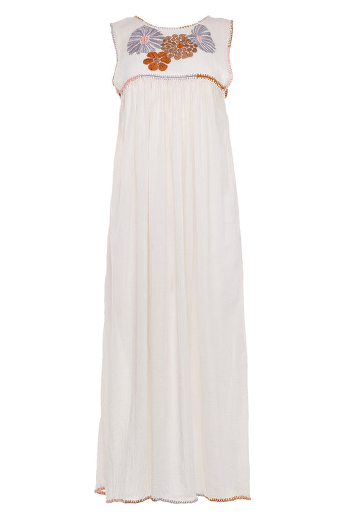 carolina k andi dress cream