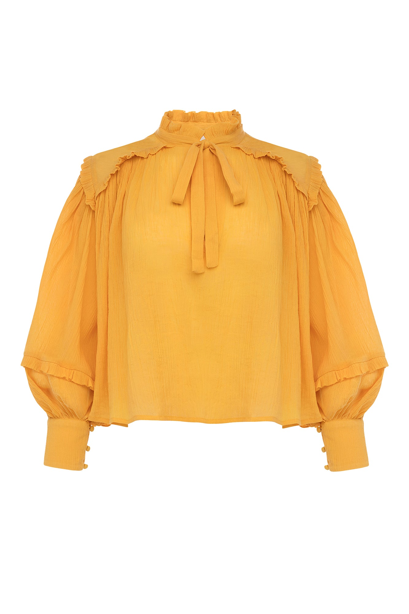 Carolina K Fiore Blouse Yellow